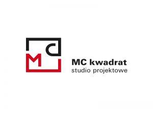 projekt logo dla firmy projektowej MC kwadrat Magdalena Czechowska