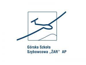Projekt logo dla Górskiej Szkoły Szybowcowej