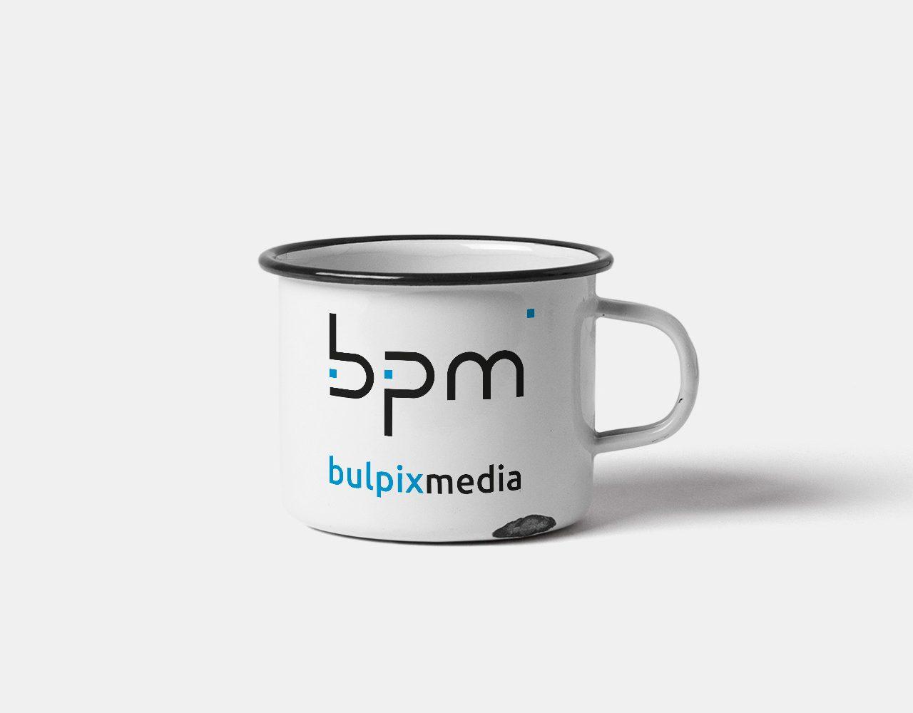 Bulpix Media gadżety reklamowe - kubek