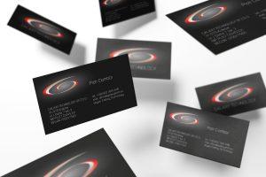 projekty wizytówek Galaxy Technology