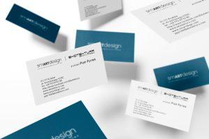projekt wizytówki dla firmy Ekotektura/SMARTdesign